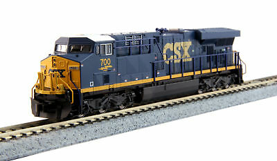Kato N Scale GE ES44AC GEVO CSX Transportation/YN3 Dark Future Blue/Yellow #700
