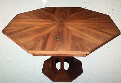 Mid-Century Modern Dining Table Walnut Foster-McDavid, Octagon