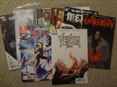 8 Comic Lot Venom #3 Cable Wasp And More