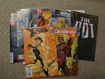 8 Comic Lot Silencer The Rot Ms. Marvel And More