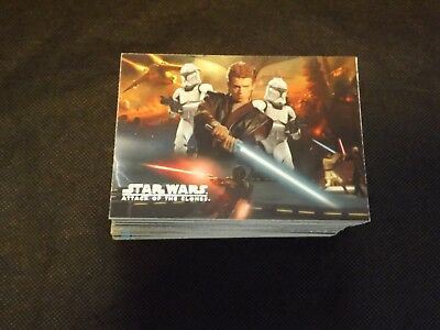 Star Wars Attack Of The Clones Trading Card Lot 66 Cards No Dupes Topps 2002