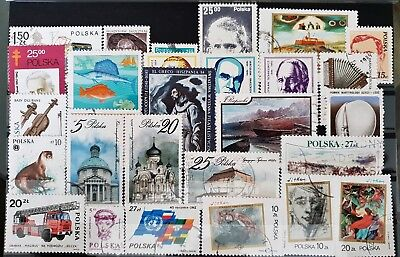 Poland Used All Different Stamps Collection Lot # 2