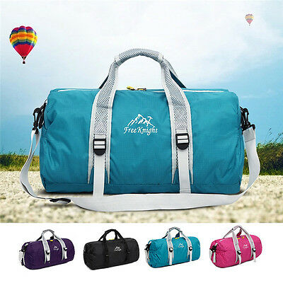 Waterproof Overnight Tote Training Gym Sport Travel Bag Duffle Carry On  Luggage 15987af4bd