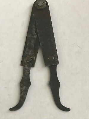 Small Lady Dancing Leg Calipers Old Antique Machinist Craftsman Tool