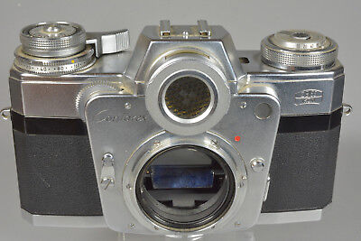 Vintage Zeiss Ikon Contarex 35mm Camera No. T92901 Bullseye mid-1960s