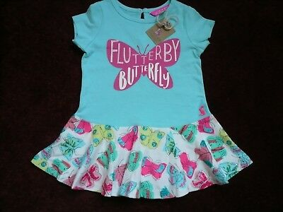 NWT Joules baby butterfly dress 3-6 months price tag £19.95