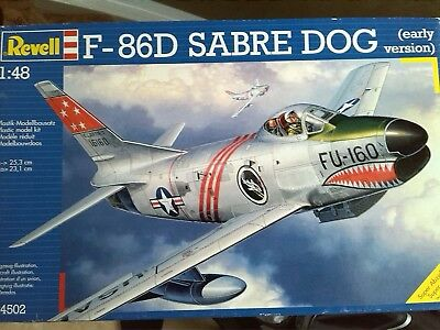 Revell 1:48 F-86D Sabre DOG (early version)