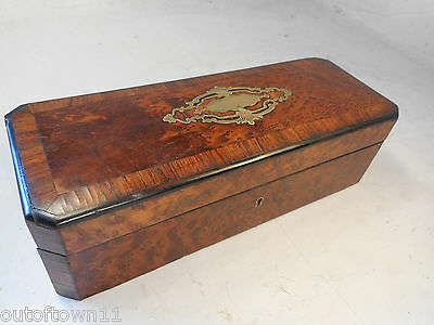 Antique French Boulle type Box    ref 1682