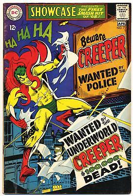 SHOWCASE #73 VG, Origin/1st app. The Creeper by Steve Ditko, DC Comics 1968
