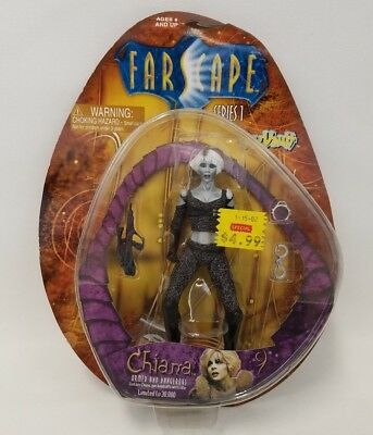 """2000 Farscape 7"""" Chiana Series 1 action figure by Toy Vault Limited to 30,000"""