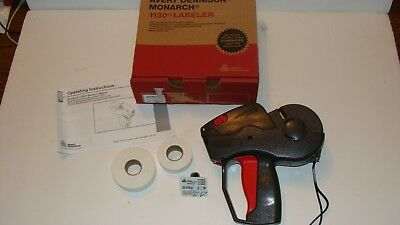 Avery Dennison Monarch 1130 Price Gun Labeler With 1 Ink Plus Labels