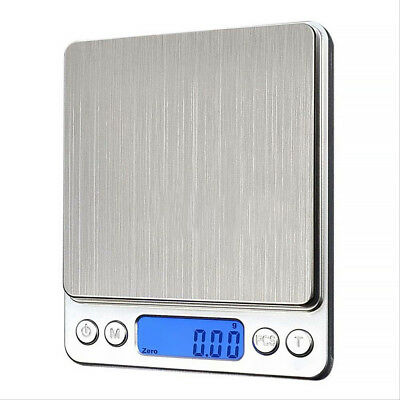 Digital Pocket Scale Weight Electronic Jewelry Balance Gram 3000g X 0.1g 0.01g H