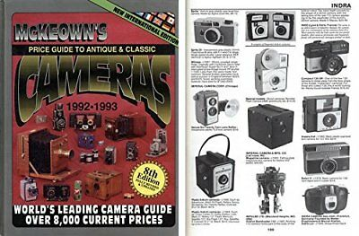 Price Guide to Antique and Classic Cameras, 1992-1993 Book The Fast Free