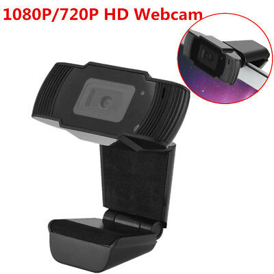 HD 1080P 5MP USB 3.0 Webcam Camera W/MIC Clip-on For Computer PC Laptop Skype