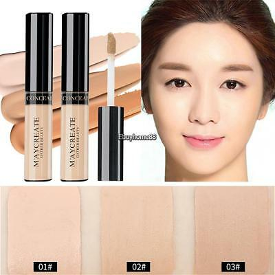 New Fashion Women Cosmetic Professional Face Liquid Makeup Concealer EHE8