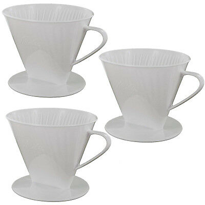 MELITTA Genuine Type 102 Pour Over Coffee Filter Cone (Pack of 3)