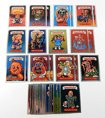 Lot of (36) 2003 Topps Garbage Pail Kids GPK ANS 1 Silver Foil Stickers Nm/Mt
