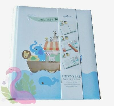 Vintage HALLMARK Baby First Year Memory Book Biblical Noahs Ark Theme 1992 NEW