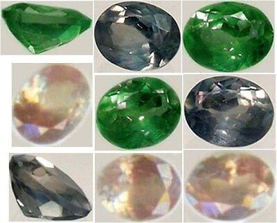 Antique Alexandrite 19thC Russia Natural 1/3ct Color-Change Genuine Handcrafted