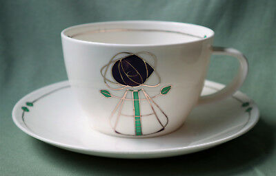 Dunoon Fine Bone China Large Cup & Saucer - Helensburgh
