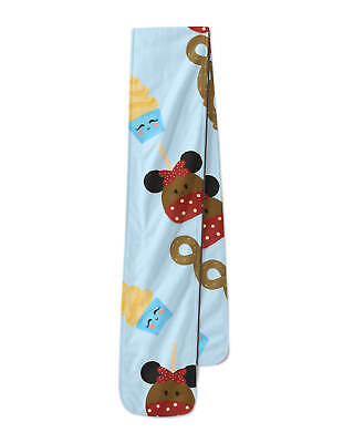 Disney Store Scarf Mickey Mouse Princess Ariel Belle Maleficent Theme Parks New