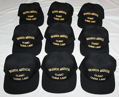 Dealer Lot Of 9 New Bancroft U.s. Navy Medical Clinic China Lake Baseball Caps