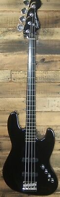 Squier by Fender Deluxe Active 4 st. Jazz Electric Bass Guitar BLEM  #9482