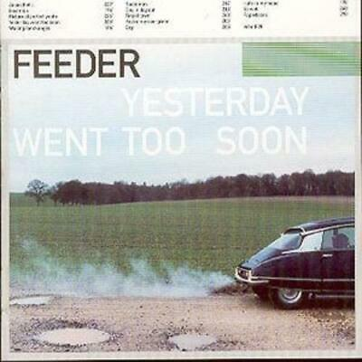 Feeder : Yesterday Went Too Soon CD (1999) Highly Rated eBay Seller Great Prices