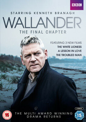 Wallander: Series 4 - The Final Chapter DVD (2016) Kenneth Branagh ***NEW***