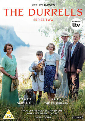 The Durrells: Series Two DVD (2017) Keeley Hawes cert PG 2 discs ***NEW***