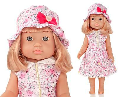 "Molly Dolly 18"" Emma Doll - Poseable Dressed Vinyl Girl Our American Generation"
