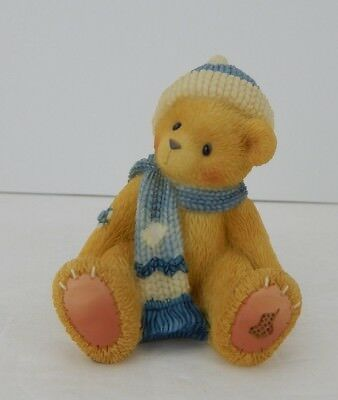 Enesco Cherished Teddies A Cold Winter's Day Won't Keep Me Away #534218 New
