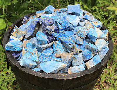 1000 Carat Bulk Lot Natural Rough Lapis, Raw Crystal Gemstone Specimen 200 Grams