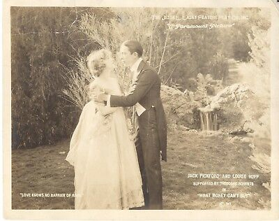 What Money Can't Buy.. Rare 1917 Lobby Card.. Silent..love Knows No Barrier