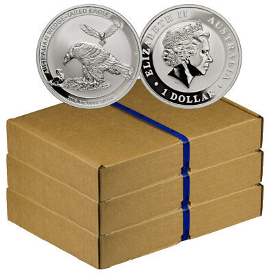 Monster Box-300 - 2018-P Australia 1 oz Silver Wedge-Tailed Eagle $1 BU SKU52645