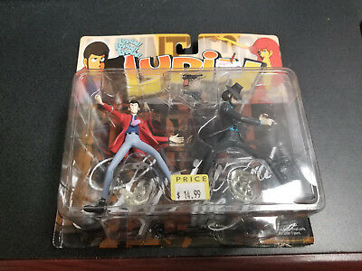 Toycom Lupin the 3rd Lupin and Jigen figure set, Brand new!