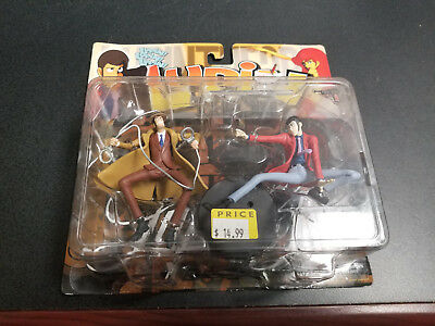 Toycom Lupin the 3rd Lupin and Zenigata figure set, Brand new!