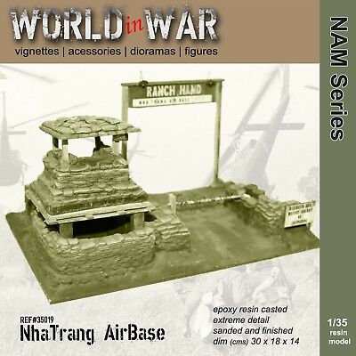 World in War - 1/35 Nha Trang Airbase entry - Vietnam War