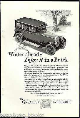 1926 BUICK advertisement, 1927 Buick 4-door Sedan
