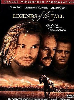 Legends of the Fall (DVD, 1997, Deluxe Widescreen) NEW