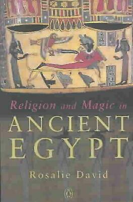 Religion and Magic in Ancient Egypt by Rosalie David (English) Paperback Book Fr