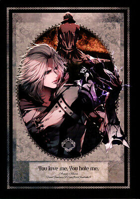 Final Fantasy 15 XV FF15 FFXV Doujinshi Comic Ardyn x Ravus You Love me You Hate