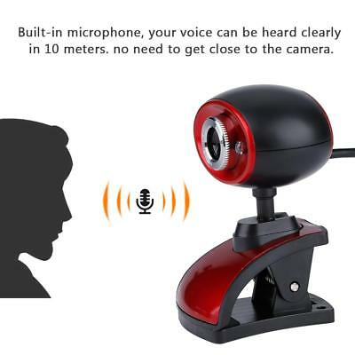 HD 14 MP USB 2.0 Night Vision Webcam Camera with Microphone for Skype PC Laptop