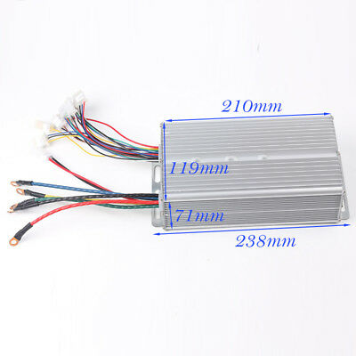 48V 2000W 24Fets Electric-Bicycle Brushless Motor Controller for Scooter E-Bike