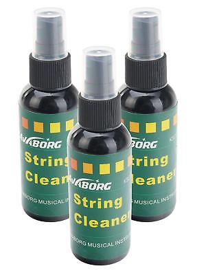3 x GITARRE SAITEN REINIGER STRING CLEANER GITARRENSAITEN PFLEGEMITTEL PUMPSPRAY