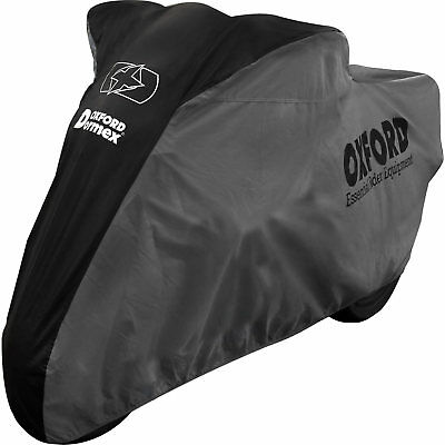 Oxford Dormex Indoor Motorcycle Cover XL Superbike Cruiser Adventure Protective