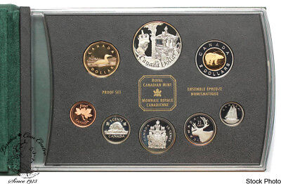 Canada 2002 Queen Elizabeth II Double Dollar Proof Coin Set
