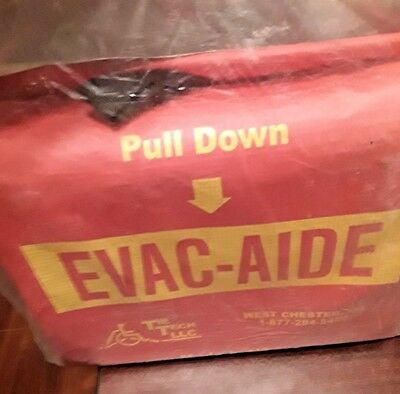 New Factory Sealed EVAC- AIDE Safety Transporting, Side or Pull Person to Safety
