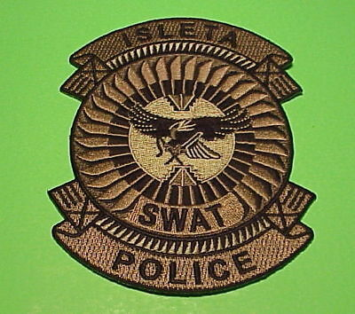 Isleta  Tribal Police  ( Subdued Green  Swat )   New Mexico  Nm  Police Patch