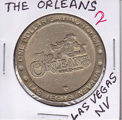 Casino Dollar Token Chip Coin Gambling - The Orleans #2 - Las Vegas, Nevada